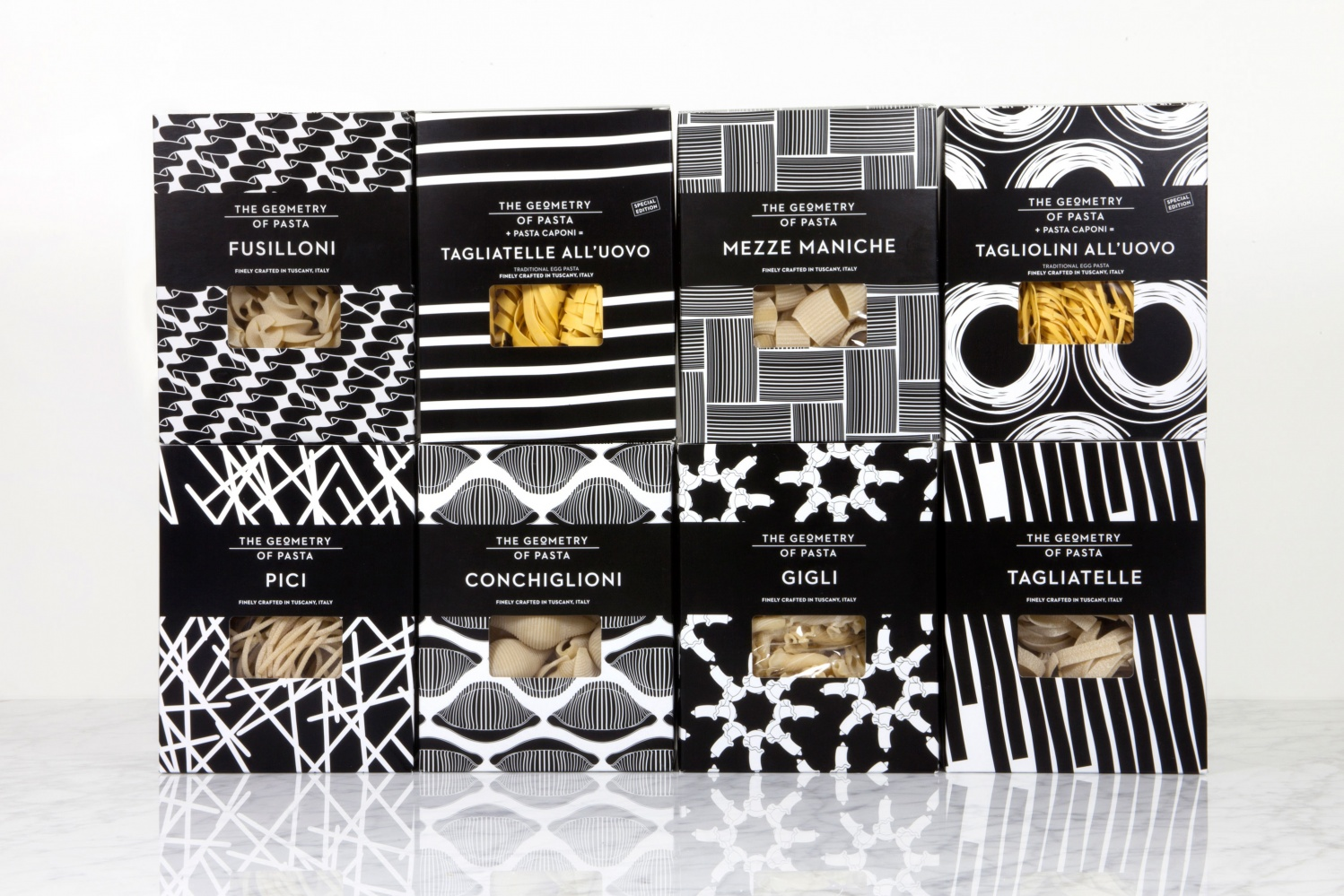 The Geometry Of Pasta by Here Design