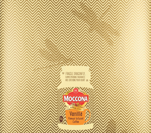 MOCCONA: the delicate allure of the moment