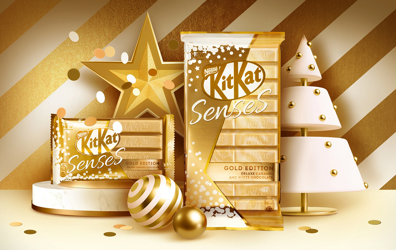 KitKat® Sense® Gold Edition - Портфолио Depot