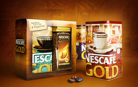 Nescafe Gold Tins '12
