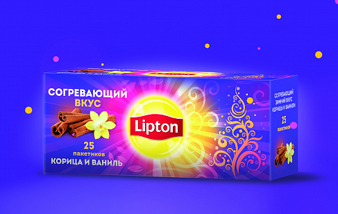 Lipton with Cinnamon and Vanilla