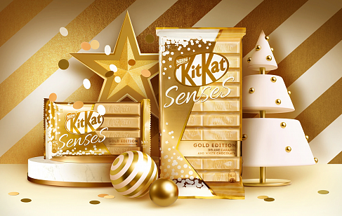 KitKat® Sense® Gold Edition