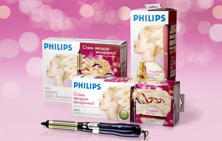 Philips «Became a Party Star»