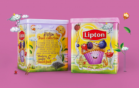 Lipton Blueberry Muffin & Forest Fruit