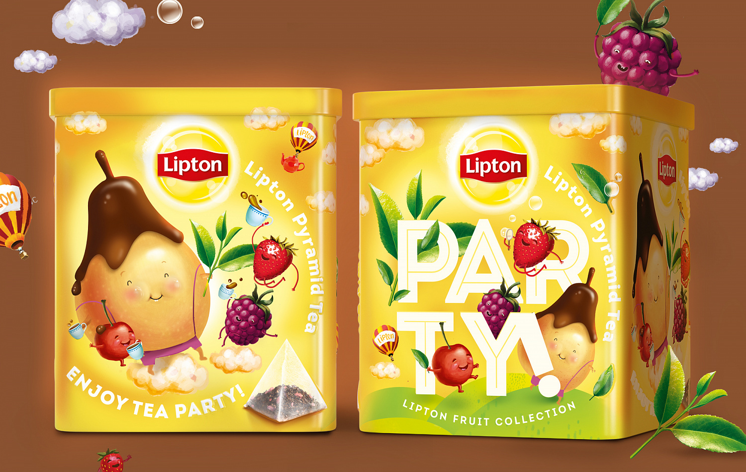 Lipton Pear & Chocolate - Портфолио Depot